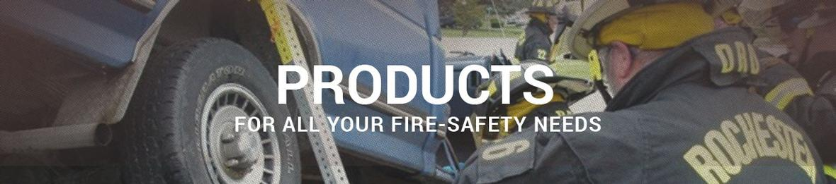 Banner picture for the Products page for AEC Fire
