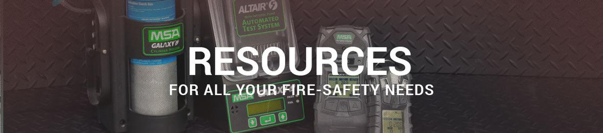Banner picture for the Resources page for AEC Fire