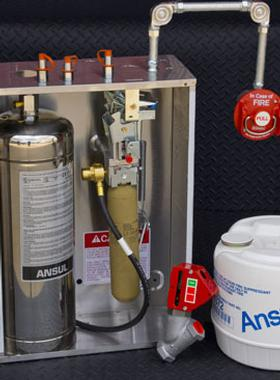 Picture of a Fire System for AEC Fire