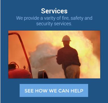 Graphic link to the Services page for AEC Fire